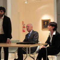 Conferenza stampa a Casa Cavazzini